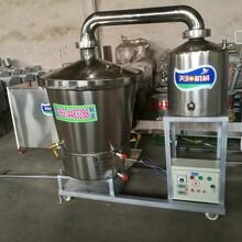 家庭用烧酒设备价格低廉包教技术电气两用蒸酒锅图片