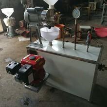 自熟成型的磨浆米线机天阳牌电动粉干机工艺图片