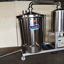 乐山五粮酿酒生产线电气两用白酒机包教技术图片
