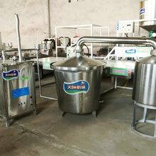 新型不锈钢烧酒机价格流动酿酒设备包售后带技术图片