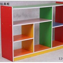 广西南宁鹰族板式儿童玩具收纳架幼儿园宝宝整理卡通储物柜多功能置物书架塑料柜子图片