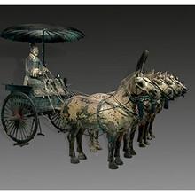西安民俗礼品铜车马供应可送货上门