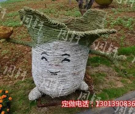 【稻草制作工艺品价格---动漫稻草工艺品制作_稻草人加工定做价格|图