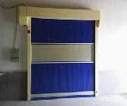 优质高速卷帘门,工业软帘门图片