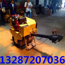 周口生产全液压压路机双钢轮振动压路机机手手扶双轮压路机凸轮