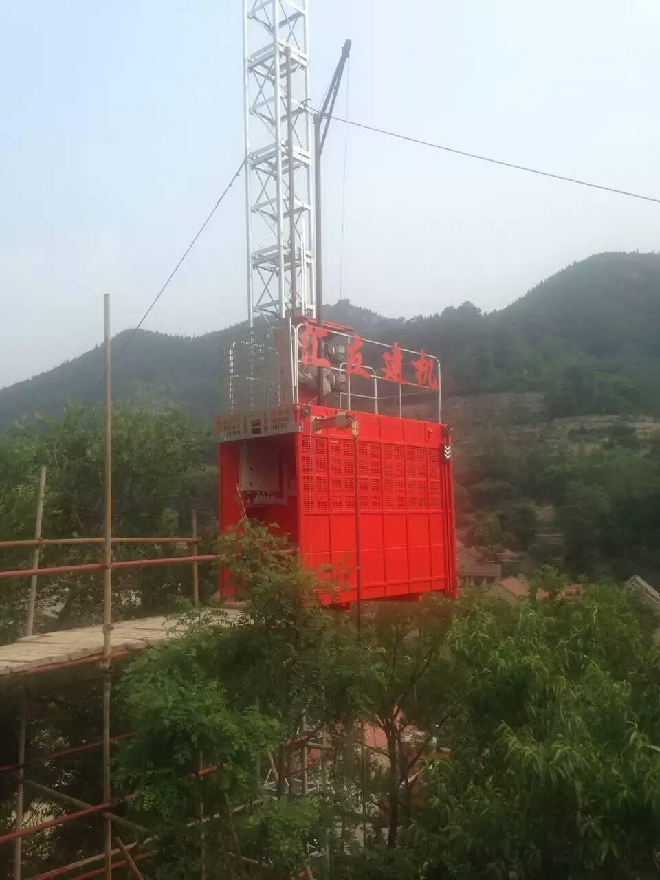 施工升降机电路图