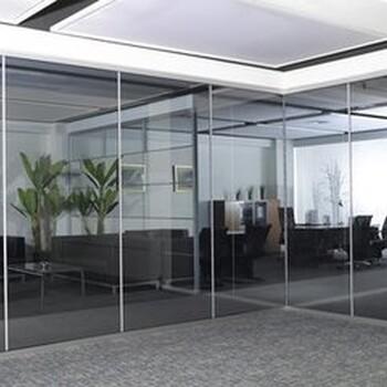 太原小店区安装玻璃隔断安装钢化玻璃质量好价格优