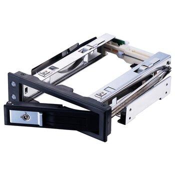 Unestech3.5寸光驅位SATA免工具硬盤抽取架工業設計