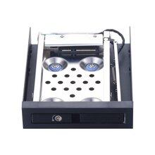 Unestech2.5寸鋁合金門組硬盤抽取盒機箱軟驅位SATA防震硬盤盒圖片
