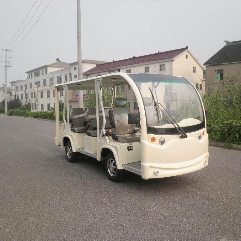 朗迈8座新款开放式电动观光车福建电动观光车生产观光电动车厂家