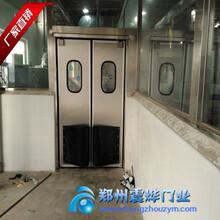 不锈钢自由门-不锈钢防撞门-厂家直销图片