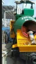 混凝土输送泵车厂家,搅拌一体泵,新型构造柱泵图片