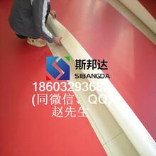 乒乓球pvc运动地板厂家WG-45001网格纹乒乓球专用地板图片