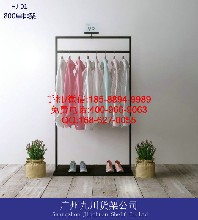 服装店展示架服装架,优衣库货架,GXG服装货架