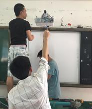 海口支架投影幕布可移动幕布投影仪吊架线材投影仪上门安装调试