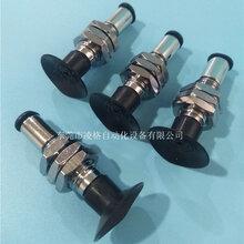 臺灣單層薄型真空吸盤PATKM/PAYKM-10/15/20/25/30-S/N快插式金具圖片