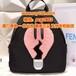 奢侈品芬迪灯泡背包黑色原单fendi包包代工顶级货