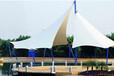 舟山旅游局园林休闲长廊、小亭子儿童沙地遮阳景观棚膜结构