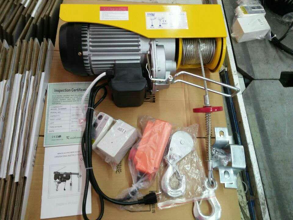 PA600美式三腿插头微型电动葫芦,PA600出口微型电动葫芦