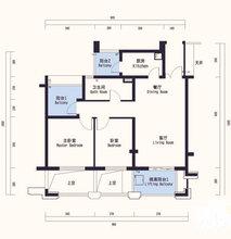 仙林区装修设计报价—天正理想城5-1203室93平简约装修—仙林区二手房装修效果图