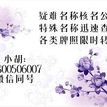 专治上海公司名称疑难杂症及特殊名称公关