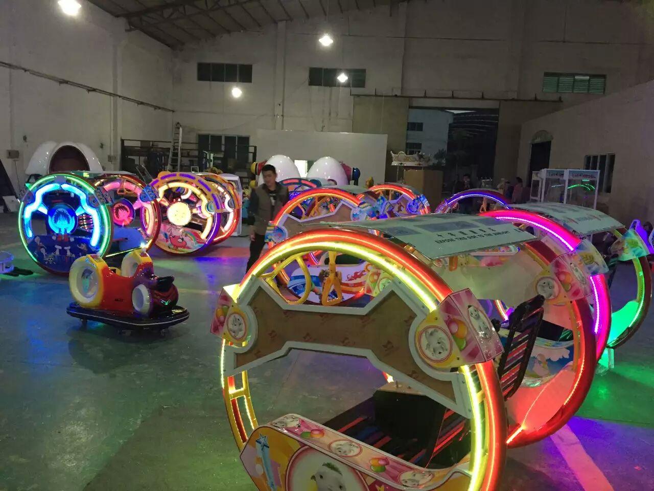 【新款乐吧车儿童双人逍遥车室内平衡车广场大型游乐