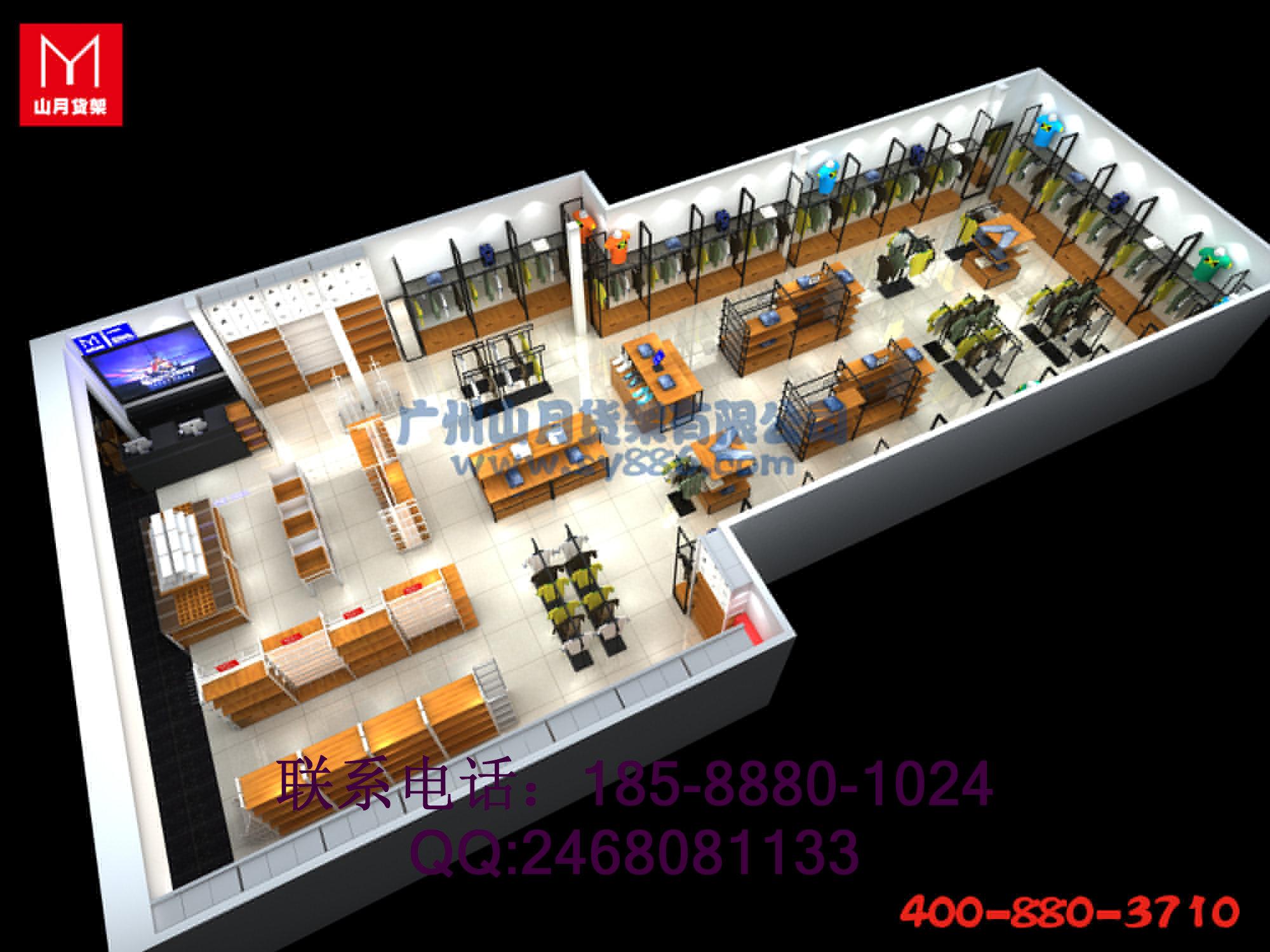 KM服装货架、VR女装展示柜、GT男士服装货架、SQ男士服装架、涵着女装服装架