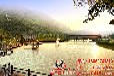 杭州做路桥景观绿化效果图的公司公园鸟瞰效果图制作景观效果图公司