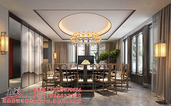 杭州餐廳效果圖酒店餐廳包間包廂效果圖,餐飲工裝效果圖包廂設計效果