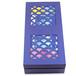 蓝色镂空的月饼包装盒设计月饼盒定制厂家直销