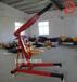 厂家现货供应液压小吊机便携式吊运机占地小易操作移动式单臂吊