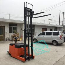 前移式电动叉车1吨1.6米全电动液压铲车工地电动取货车图片