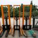 厂家直销CTY国标手动液压堆高车半吨1.6米物流装卸搬运车