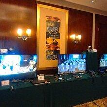 南宁展会高清58寸液晶电视机出租音响设备出租图片