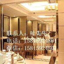 汕尾酒店移動屏風,折疊門,活動屏風,推拉門廠家圖片