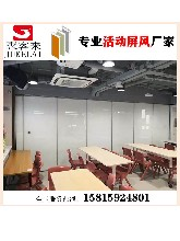 供应湘潭餐厅活动隔墙,移动隔断,折叠门,移动隔音墙厂家图片