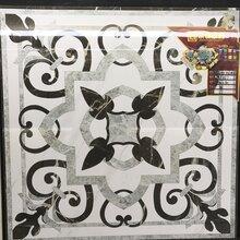 佛山直销800规格全抛釉拼花客厅走廊玄关地拼花瓷砖