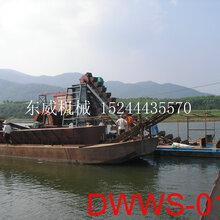 山西太原挖沙淘金设备DW大型挖沙船直销厂家