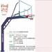 广东省江门市户外健身器材厂家直销圆管固定式移动式篮球架