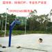 肇庆厂家直销8米6米灯杆圆管固定式箱式移动篮球架配透明钢化篮球板弹簧篮球框