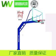 珠海小区户外健身器材健身设施学校室外体育器材篮球架厂家直销图片