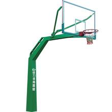 贛州圓管籃球架批發大余中學標準籃球架廠家給力體育圖片