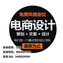 沈阳淘宝美工外包店铺主图详情页设计网店装修托管