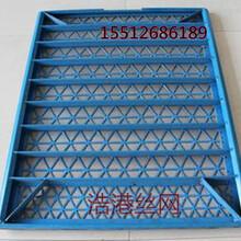 辽阳耐磨框架型双层粘合筛网价格/厂家