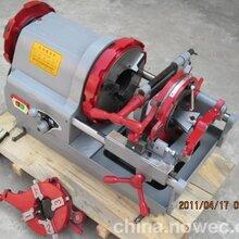 电动套丝机圆管套丝机调整方便专业给力