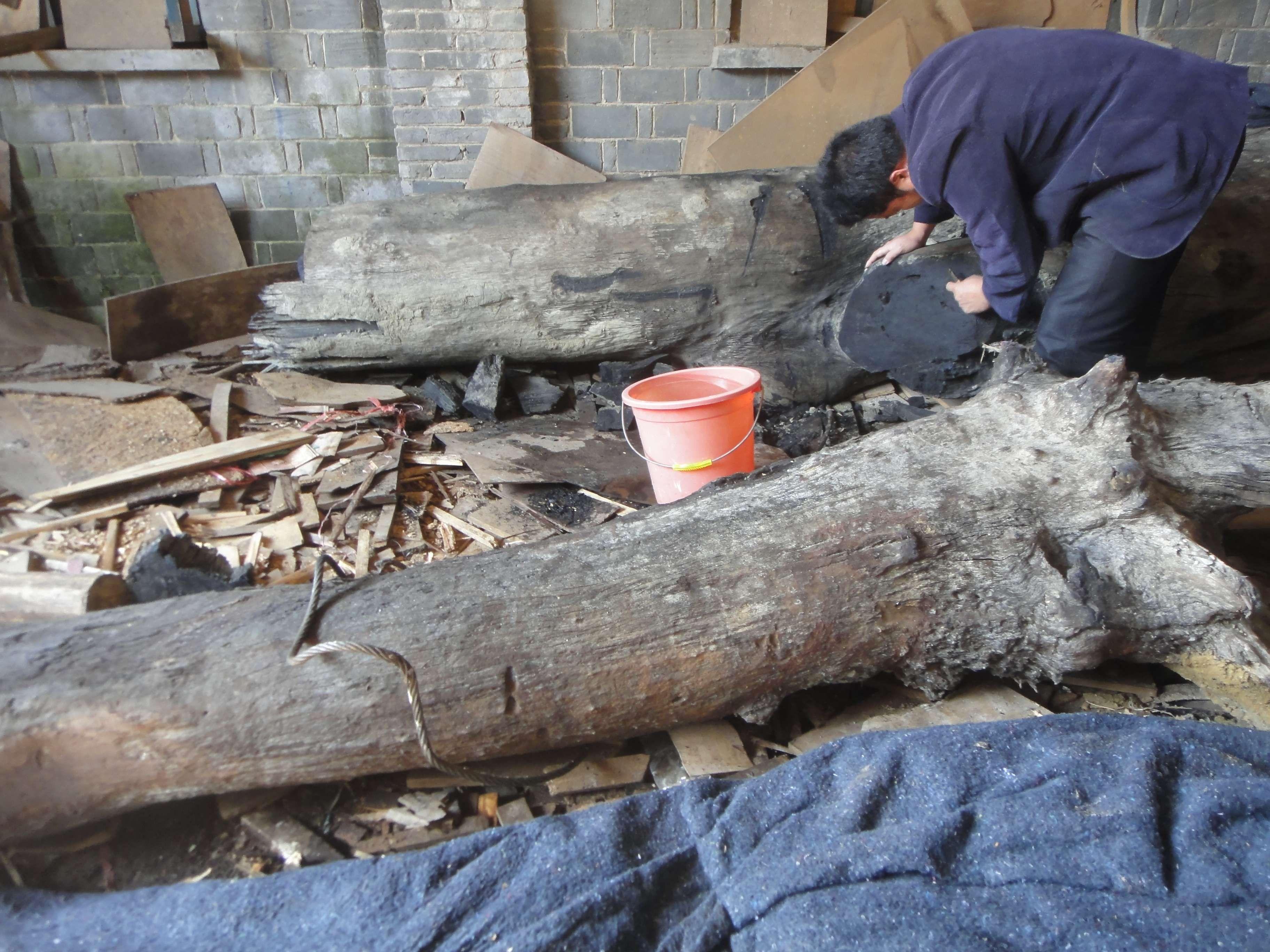 金丝楠木阴沉木现今市场价值多少一吨?
