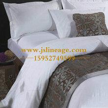广西酒店床上用品宾馆客房四件套酒店纺织品厂家