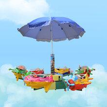 旋转小飞机公园旋转飞机广场小飞机