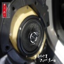 济南吉普JEEP自由客汽车音响改装德国艾索特汽车喇叭+意大利史泰格功放孚卡悦听图片
