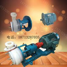 河北凯士比25FSB-10卧式衬氟塑料合金耐腐蚀泵高效节能循环泵化工污水处理泵图片